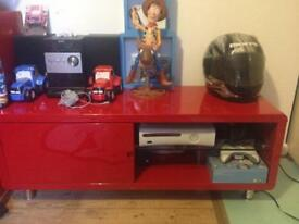 Red gloss unit
