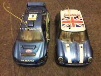 2 NITRO R/C CARS (swap)