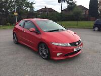HONDA CIVIC GT TYPE - R 3DR RED IMMACULATE CAR LOW MILES XENONS FULL SERVICE 2010