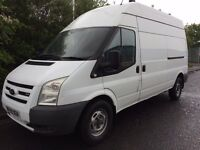 2009 59 FORD TRANSIT T350 LWB 2.4 140 BHP 6 SPEED RWD LONG MOT ONE FORMER OWNER WELL MAINTAINED FSH