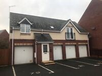 2 bed maisonette (semi detached) house to let Saxthorpe Road Leicester