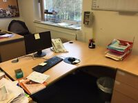4 x Office Desks- Free to collect
