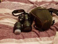 Nikon d3100 and bag