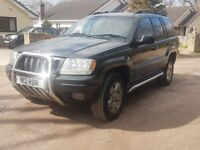 Jeep Cherokee limited Sport 3.1diesel full years mot 4x4