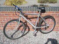 Marin mountain bike, serviced, good condition, medium size