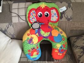 Playgro elephant support pillow