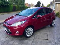 2009 FORD FIESTA TITANIUM 1.6 TDCI DIESEL 5 DOOR MANUAL - ONLY 48,000 MILES!!!!!
