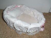 Ashton Drake wicker collectable doll basket