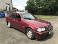 S reg Mercedes c200 automatic only £250