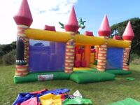 Bouncy castle- Dragon Activity Centre- manufactured by Airque, only 3 years old with little use.
