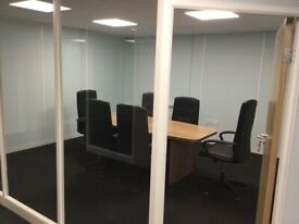 Serviced offices to rent