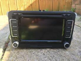 GENUINE VW RNS-510 SAT NAV SATELLITE NAVIGATION UNIT 1T0035680C