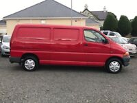 2000 Toyota Hiace lwb wanted wanted wanted colection within 3 hours