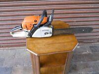 Stihl Chain Saw MS261 50.2cc – 16 inch bar & chain - Tree Surgeon / Gardener / Logs