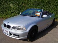 BMW 318 CI 2.0 AUTO CONVERTIBLE 2 door finished in metallic Silver