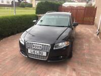 Audi A4 estate 2006 diesel Private plate and low mileage 115000 miles.