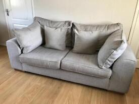 Two & three seater fabric sofas
