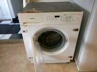 Integrated Smeg washer/dryer