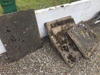 Garden slabs free