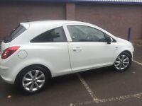 Vauxhall Corsa 1.2 Active 2012 plate WHITE