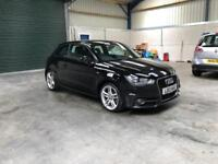 2012 Audi a1 S Line 1.6tdi sat nav leather fsh £0 road tax guaranteed cheapest in country
