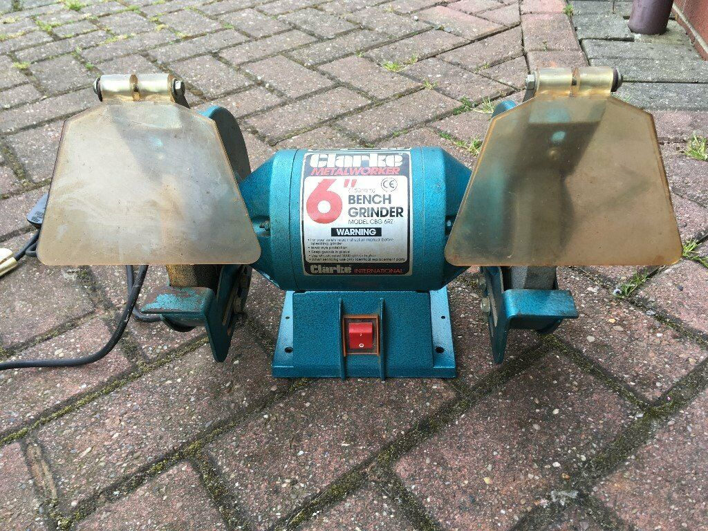 Stupendous Clarke Metalworker Bench Grinder Model No Cbg 6Rz In Barrow Upon Humber Lincolnshire Gumtree Beatyapartments Chair Design Images Beatyapartmentscom
