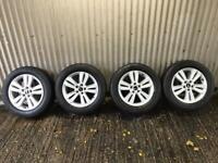 """Genuine 17"""" Kia Sportage Alloy wheels - 5x114.3"""