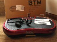 BRM slim vibration plate for exercising.