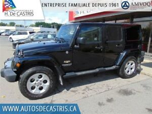 2013 Jeep Wrangler UNLIMITED SAHARA*4X4, MAGS