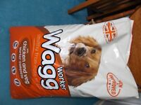 Wagg Chicken and Veg dog food 17kg