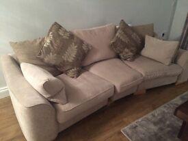 Large neutral sofa