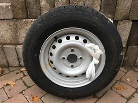 Ifor Williams trailer wheel and tyre. Brand new