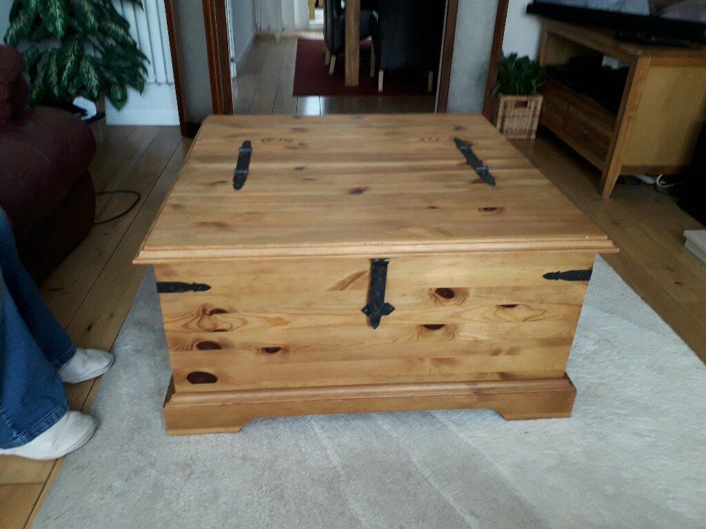Large Coffee Tablestorage Chest By Next Excellent Condition In Morley West Yorkshire Gumtree