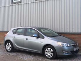 2012 [12] VAUXHALL ASTRA 1.6 EXCLUSIV PETROL [115] HATCHBACK 5DR SILVER