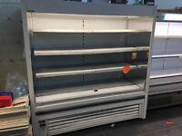 Cheap display fridge 2 metre for sale bargain