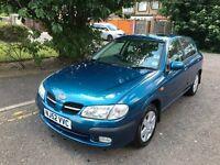 2003 Nissan Almera 1.8 SE+ 5dr Automatic 1.8L @07445775115@