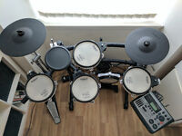 Excellent Roland TD-8KV electronic drum kit in Glasgow. Great for practicing and recording.