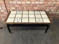 vintage G Plan 'Librenza' tiled topped coffee table