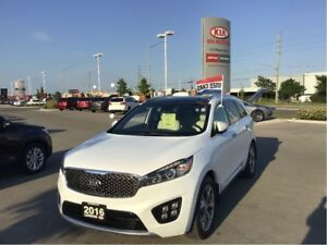 2016 Kia Sorento 3.3L SX+ 7-Seater - New Brakes, Bluetooth