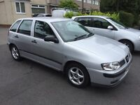 Seat Ibiza 1.4. Ideal first car. Same owner for the last 10 years. Full service history