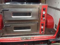 Commercial Pizza Double Oven