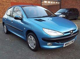 peugeot 206 1.4 hdi 5 door hatchback 2003