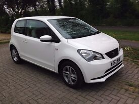 SEAT Mii - 72+MPG, £20 Tax, MOT'd to September, extremely fuel efficient, alloy wheels and SAT NAV