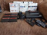 Sega Master System with 29 games, leads, power supply and controllers.