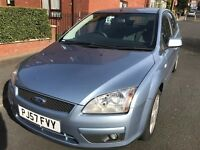 57 plate) FORD FOCUS STYLE, 1.6 L Petrol, 5 Door FULL 12 MONTHS MOT + lady owner + new timing belt