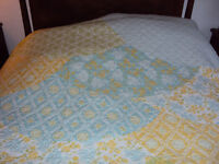 Quilt ,Throw, Counterpane by Cynthia Rowley