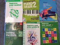 Piano Grade 2 books for sale!