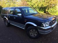 Winter 4wd ford ranger xlt 2.5 turbo diesel double cab pick up truck 11 month mot