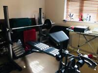 Weiderpro 490DC Home Gym System incl Weight Bench