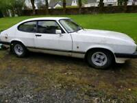 Ford Capri laser 1600cc classic car restoration project for the enthusiast